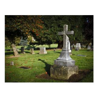 Carte Postale L'Orégon, lac Oswego, cimetière pionnier 2