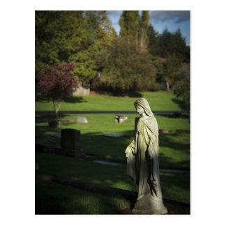 Carte Postale L'Orégon, lac Oswego, cimetière pionnier d'Oswego