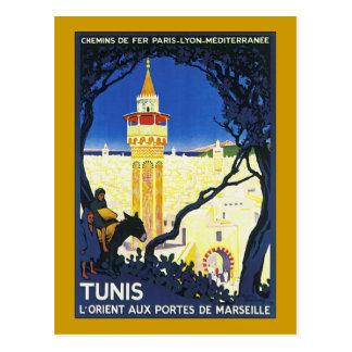 Carte Postale ~ L'Orient Portes aux. De Marseille de Tunis