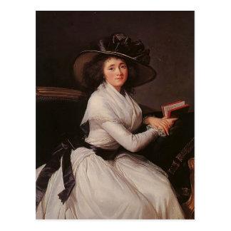Carte Postale Louise Elisabeth Vigee Le Brun- Countess de Châtre