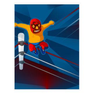Carte Postale luchador