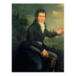 Carte Postale Ludvig van Beethoven, 1804