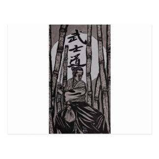 Carte Postale Lumière de lune de Bushido