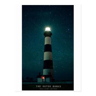Carte Postale Lumière d'île de Bodie
