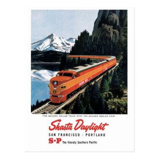 Carte Postale Lumière du jour de Shasta