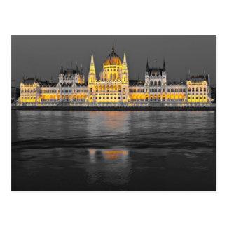 Carte Postale Lumières de Budapest