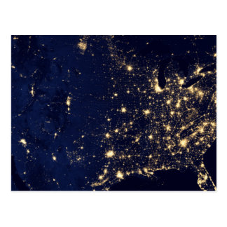 Nasa Lights from Space USA