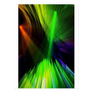 Carte Postale lumières lasers