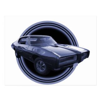 Carte Postale Lune de 1968 GTO