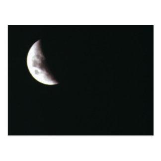 Carte Postale Lune quarte