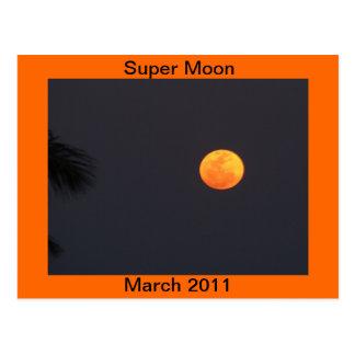 Carte Postale Lune superbe