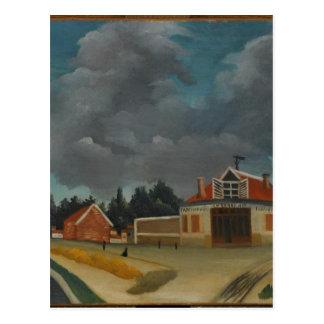 Carte Postale L'usine de chaise chez Alfortville par Henri