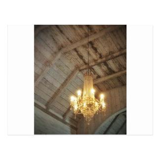 Carte Postale Lustre de cathédrale