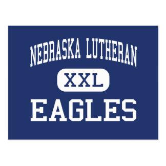 Carte Postale Luthérien du Nébraska - Eagles - haut - Waco