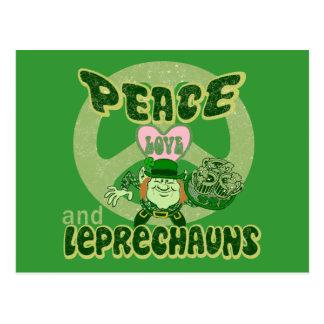 Carte Postale Lutins d'amour de paix