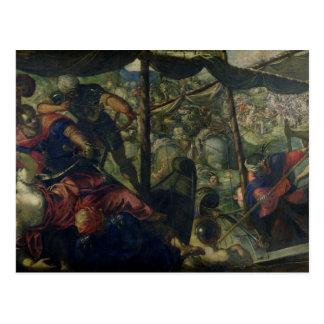 Carte Postale Luttez entre les Turcs et les chrétiens, c.1588/89
