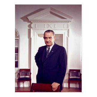 Carte Postale Lyndon B Johnson