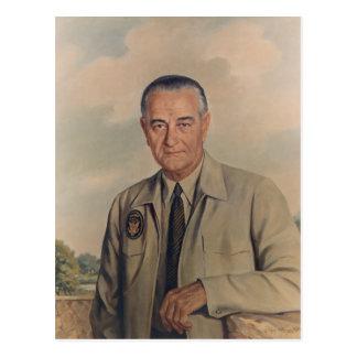 Carte Postale Lyndon B. Johnson - Elizabeth Shoumatoff (1969)