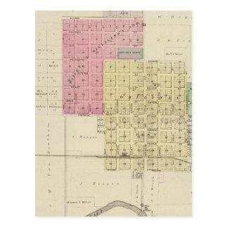 Carte Postale Lyndon, le comté d'Osage, le Kansas