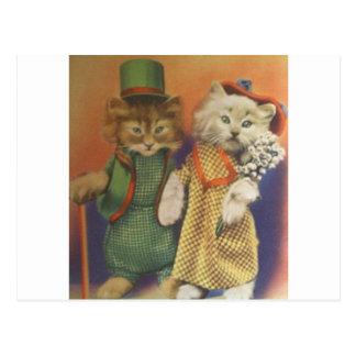 Carte Postale M. n Mme cat