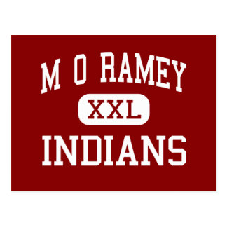 Carte Postale M O Ramey - Indiens - junior - Fayetteville