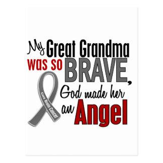 Carte Postale Ma grande grand-maman est un cancer du cerveau de