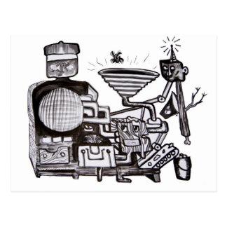 Carte Postale Machine