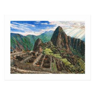 Carte Postale Machu Picchu