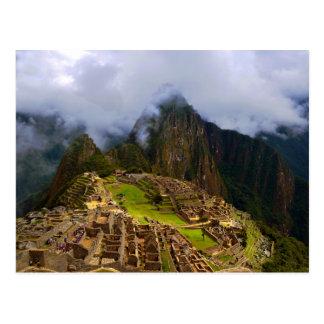 Carte Postale Machu Picchu donnent sur, le Pérou