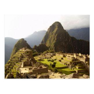 Carte Postale Machu Picchu Pérou