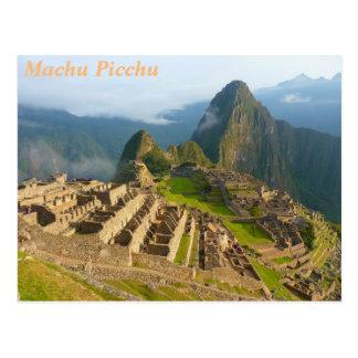 Carte Postale Machu Picchu, Pérou