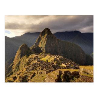 """Carte Postale Machu Picchu, Pérou   """"a perdu la ville des Inca """""""