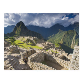 Carte Postale Machu Picchu, ruines antiques, monde 3 de l'UNESCO