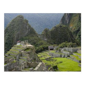 Carte Postale Machu Picchu, ruines de ville d'Inca, Pérou. 2