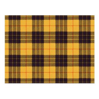 Carte Postale Macleod de tartan de Lewis et d'écossais de Ramsay