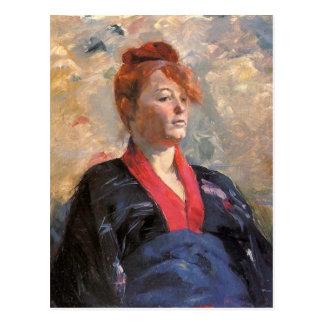 Carte Postale Madame Lily Grenier