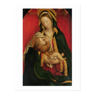 Carte Postale Madonna allaitant son enfant, 1520-30 (huile sur