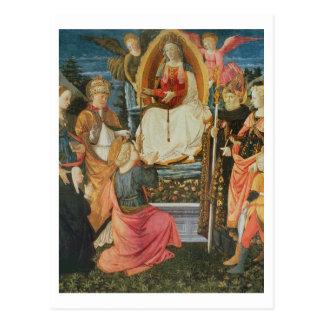 Carte Postale Madonna de la ceinture sacrée, 1456 (tempera