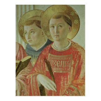 Carte Postale Madonna de l'ombre, petit groupe de St Thomas
