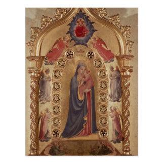 Carte Postale Madonna des étoiles