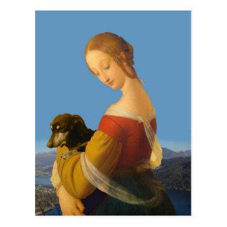 Carte Postale Madonna et art Tate Grande-Bretagne de teckel