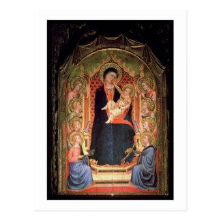 Carte Postale Madonna et enfant, 1347