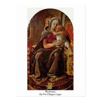 Carte Postale Madonna par ATF Filippo Lippi