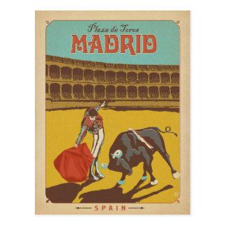 Carte Postale Madrid, Espagne