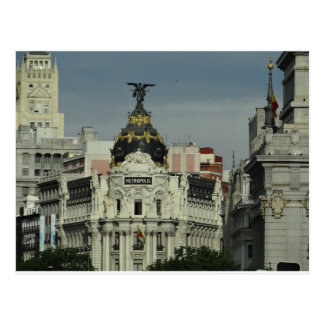 Carte Postale Madrid Espagne
