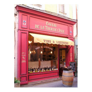 Carte Postale Magasin de vin de la Provence