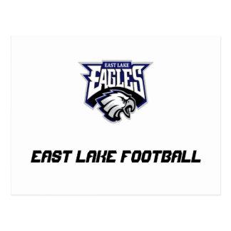 Carte Postale Magasin est de fan d'Eagles de lac