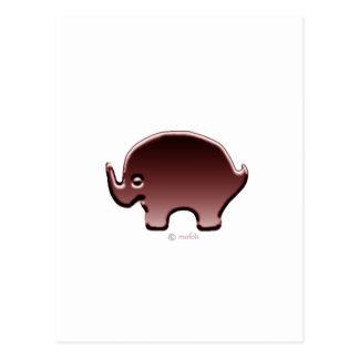 Carte Postale Magenta d'Elefante