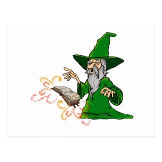 Carte Postale magicien