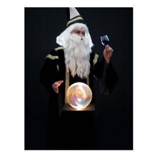 Carte Postale Magicien 1